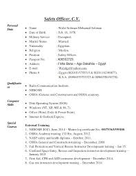 Military Service Resume Police Officer Skills Samples Marine Best