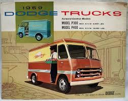 100 Dodge Commercial Trucks 1959 DODGE COMMERCIAL TRUCKS VANS ADVERTISING SALES BROCHURE GUIDE