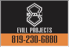 100 Evill Projects Opening Hours QC
