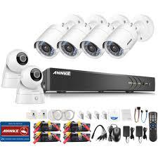 ip filaire exterieur annke kit éra de surveillance filaire 8ch 5 en 1 dvr 3mp