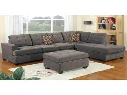 Suede Sofa Beautiful Poundex Bobkona Prissy Waffle Sectional In