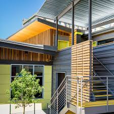 100 Homes Made Of Steel Metal Siding Panels For Exterior And Interior Walls By Bridger