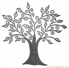 Printable Palm Tree Coloring Pages