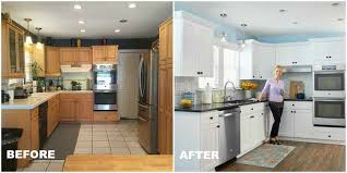 Kitchen Makeovers Before And After Photos Make A Womans Day Makeover Home Decor Ideas