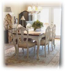 Painted Dining Room Table Chairs For Sale