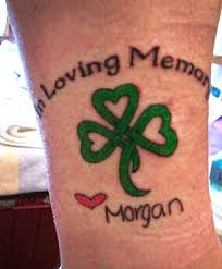 Memorial Tattoos MorgansHeart