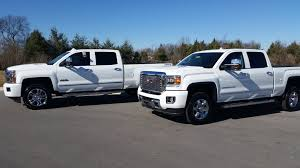 2015 GMC SIERRA 3500 HD DENALI VS CHEVROLET SILVERADO 2500 HIGH ... Gmc Comparison 2018 Sierra Vs Silverado Medlin Buick F150 Linwood Chevrolet Gmc Denali Vs Chevy High Country Car News And 2017 Ltz Vs Slt Semilux Shdown 2500hd 2015 Overview Cargurus Compare 1500 Lowe Syracuse Ny Bill Rapp Ram Trucks Colorado Z71 Canyon All Terrain Gm Reveals New Front End Design For Hd