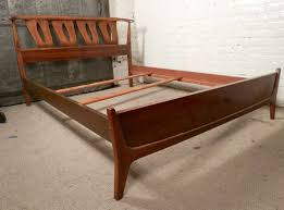 Sculpted Mid Century Modern Bed Frame By Kent Coffey At 1stdibs