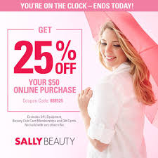 Sally Beauty - Happy Wednesday! Enjoy 25% Off Your Online ... Sally Beauty Supply Hot 5 Off A 25 Instore Purchase 80 Promo Coupon Codes Discount January 2019 Coupons Shopping Deals Code All Beauty Bass Outlets Shoes Free Eyeshadow From With Any 10 Inc Best Buy Pre Paid Phones When It Comes To Roots Know Your Options Deal Alert Freebie Contea Amazon Advent Calendar Day 9 Hansen Gel Rehab Online Stacking For 20 App