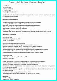 30 Truck Driver Resume No Experience | Free Resume Templates