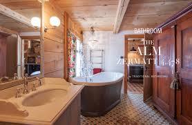 chalet badezimmer traditional bathrooms