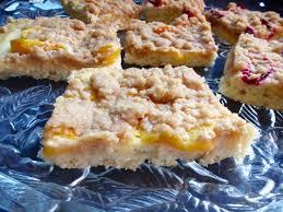 German Yeasted Peach or Plum Cake
