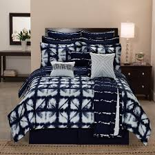 tie dye plaid printed reversible 12 piece comforter set free