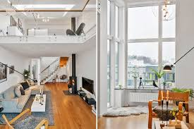 The Level Apartments by Calm And Two Level Loft Apartment In Scandinavian Style