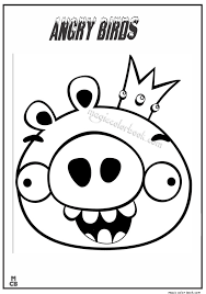 Angry Bird Coloring Pages 40