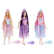 Barbie Long Hair Doll Assorted Kmart