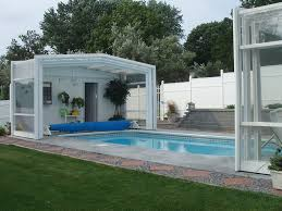 Glass Pool Enclosures Swimming Screen Patio Enclosure