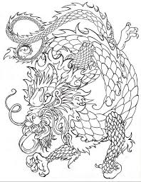 Lightning Dragon Coloring Pages Download