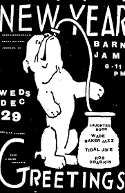Barn-jam-dec-29 | Gil Shuler Graphic Design Barn Jam Wed July 13 6pm Gil Shuler Graphic Design Jan 24 Feb 8 Apr 27 Aug 3 Barnjam2310 The Big Red Barn Jam April 19 Jan18 Oct At Awendaw Swee Outpost Charleston Events Pinterest David Gilmour Richard Wright Youtube