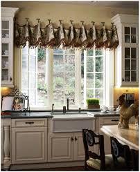 Kitchen Curtain Ideas 2017 by Kitchen Eye Catching Kitchen Valances With Cool Modern Patterns