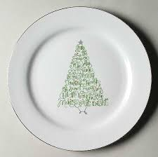 St Nicholas Square Eat Drink Be Merry Dinner Plate