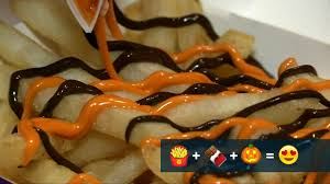 Mcdonalds Pumpkin Spice 2017 by Mcdonald U0027s Serves Up Chocolate Pumpkin French Fries Nbc News