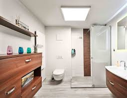 bad ohne fenster modern badezimmer leipzig andrä