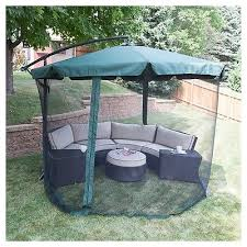 Offset Patio Umbrella W Mosquito Netting by 29 Patio Umbrella With Netting Patio Umbrella Mosquito Netting