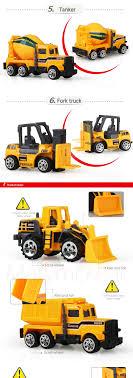 100 Custom Toy Trucks US 199 49 OFF1pcs Mini Model Engineering Van Alloy Car Mini Truck Model Car Roller Excavator Model 164 Yellow Diecast Model In