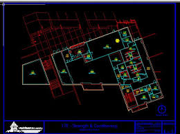 creating basic floor plans from an architectural drawing in