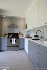cuisine gris souris entre gris souris et blanc voilà une cuisine pleine de clarté