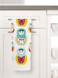 100 Matryoshka Kitchen Pure Linen Matryoshka Doll Tea Towel Accessories