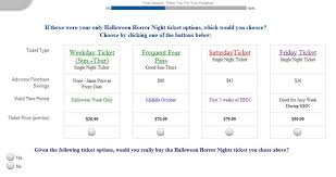 Halloween Horror Nights Frequent Fear Pass by Behind The Thrills Universal Orlando Pitches Ticketing Survey