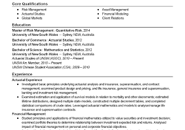 No Resume Sydney by Resume Thrilling Actuarial Resume Sle Entry Level Phenomenal