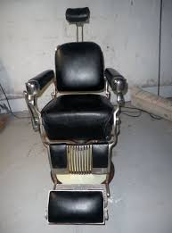vintage belmont barber chair 1960s now by happymemoriesvintage
