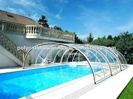 Pool Cover Dance Floor Cost Swimming Glass