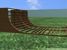 how to build a halfpipe or ramp 7 steps with pictures wikihow