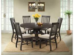 Elements Stone 60 Inch Round Table And 4 ChairsServer FREE STONERND SLAT
