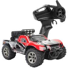 100 Electric Rc Monster Truck 118 Scale 18kmH High Speed 24GHz 4CH RC OffRoad Car