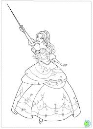 Barbie Coloring Page DinoKidsorg