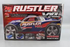 Traxxas 37076 Rustler Vxl: Stadium Truck Ready To Race Trucks ...