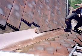 photos of tile roof repair and restoration