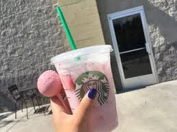 Pink Drink W Birthday Cake Pop Only Starbucks