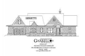 Harmonious Mountain Style House Plans by Westbrooks Cottage Ii 2100 House Plan 14043 1st Floor Plan