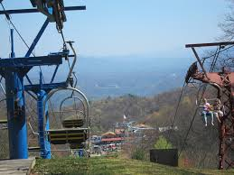 Gatlinburg Chair Lift New by Lightning Bug Lodge Alpine Slide Thrill At Ober Gatlinburg
