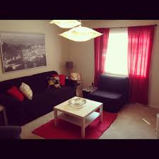 black and red living room ideas home design ideas