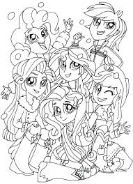 Coloring Pages Online Games Disney For Boys Girls Pony Large Size