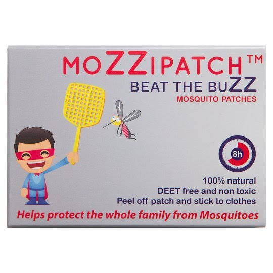 MoZZipatch Mosquito Repellent Patches