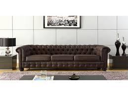 interiors canapé canapé canapé chesterfield cuir élégant canap d angle convertible