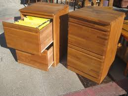 Home Decor Bautiful Wood File Cabinet 2 Drawer And Furniture Home